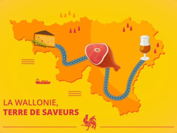 saveurs de Wallonie