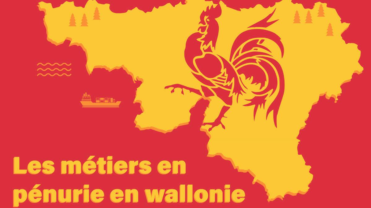 Découvrez la liste des métiers en pénurie en Wallonie