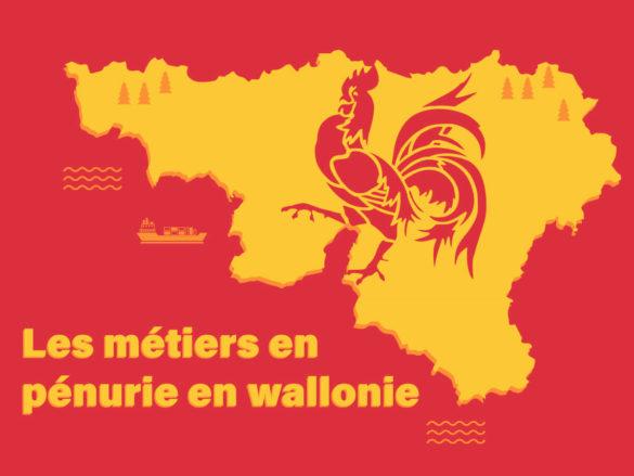 Métiers en pénurie en Wallonie