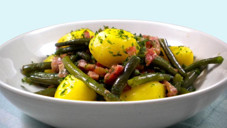 La véritable recette de la salade liégeoise